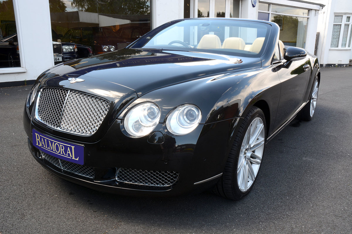 2008 Bentley Continental GTC For Sale (picture 1 of 6)