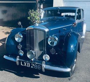 1950 Bentley MkV1 coachbuilt saloon by HJMulliner For Sale