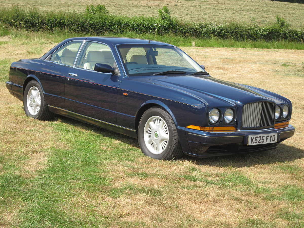 1992 Bentley Continental R For Sale (picture 1 of 6)