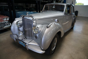 1952 Bentley Mark VI 'Big Bore' 4.6L Saloon SOLD