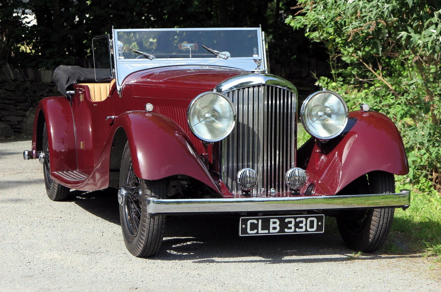 1935 Bentley 3½ Litre VdP style 'cutaway door' Tourer B179EJ For Sale (picture 1 of 6)