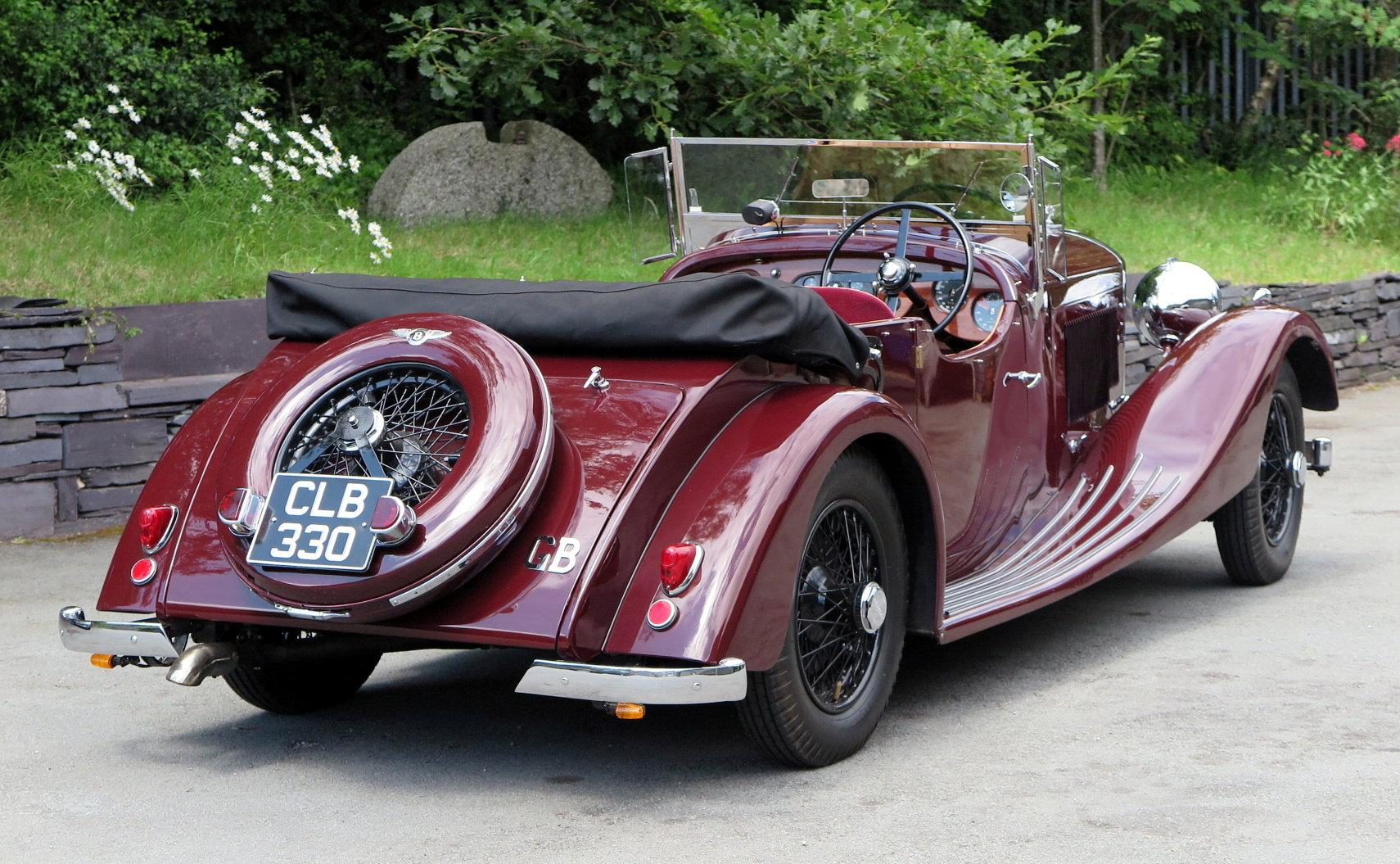 1935 Bentley 3½ Litre VdP style 'cutaway door' Tourer B179EJ For Sale (picture 2 of 6)