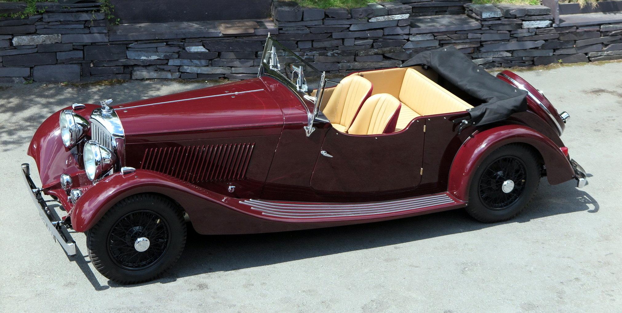 1935 Bentley 3½ Litre VdP style 'cutaway door' Tourer B179EJ For Sale (picture 3 of 6)