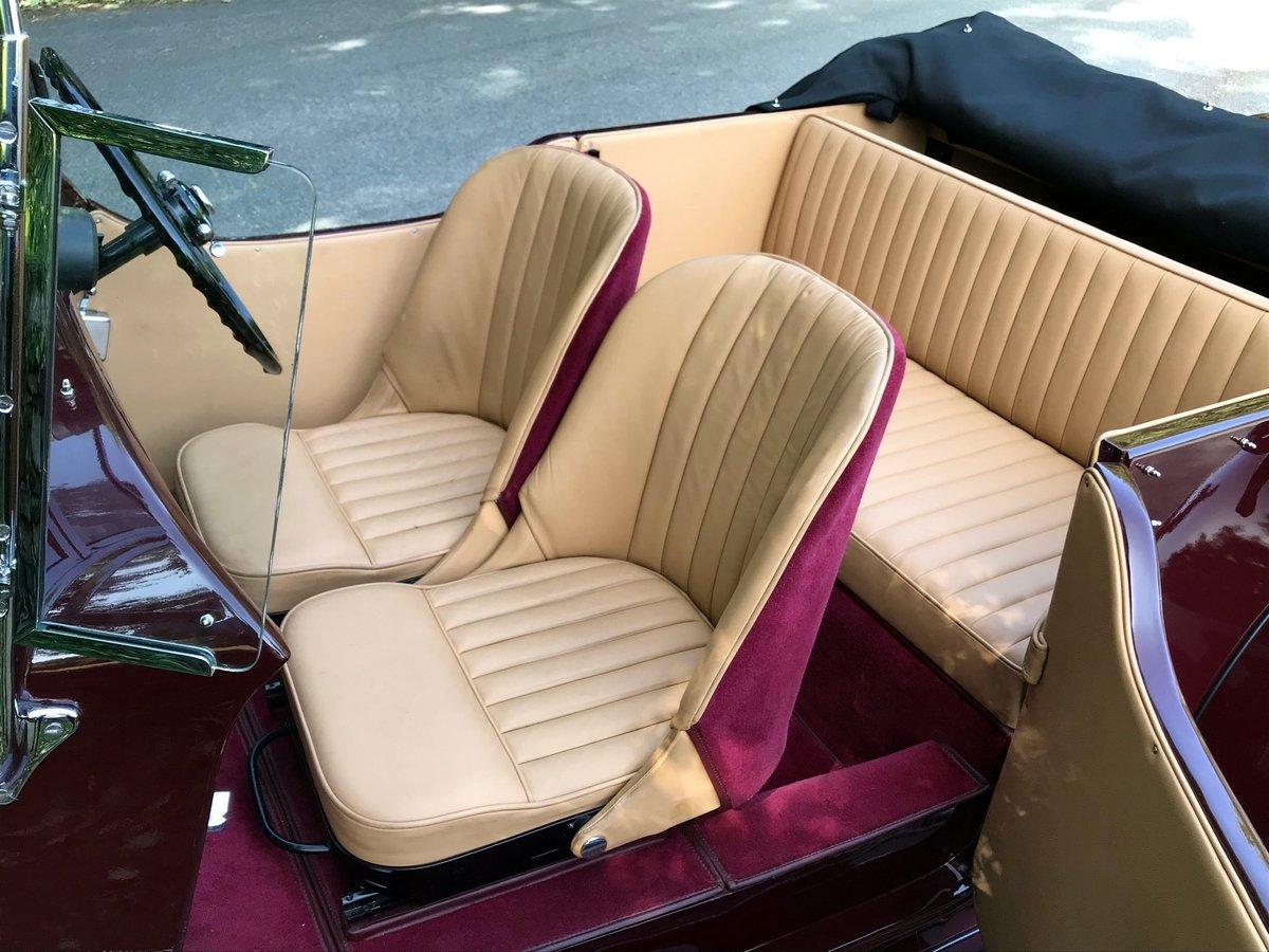 1935 Bentley 3½ Litre VdP style 'cutaway door' Tourer B179EJ For Sale (picture 5 of 6)