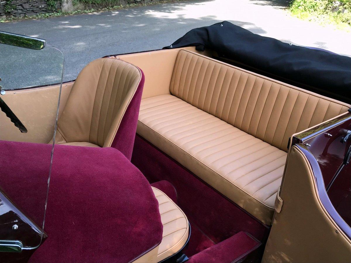 1935 Bentley 3½ Litre VdP style 'cutaway door' Tourer B179EJ For Sale (picture 6 of 6)