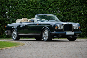 1991 Bentley Continental Convertible III SOLD by Auction