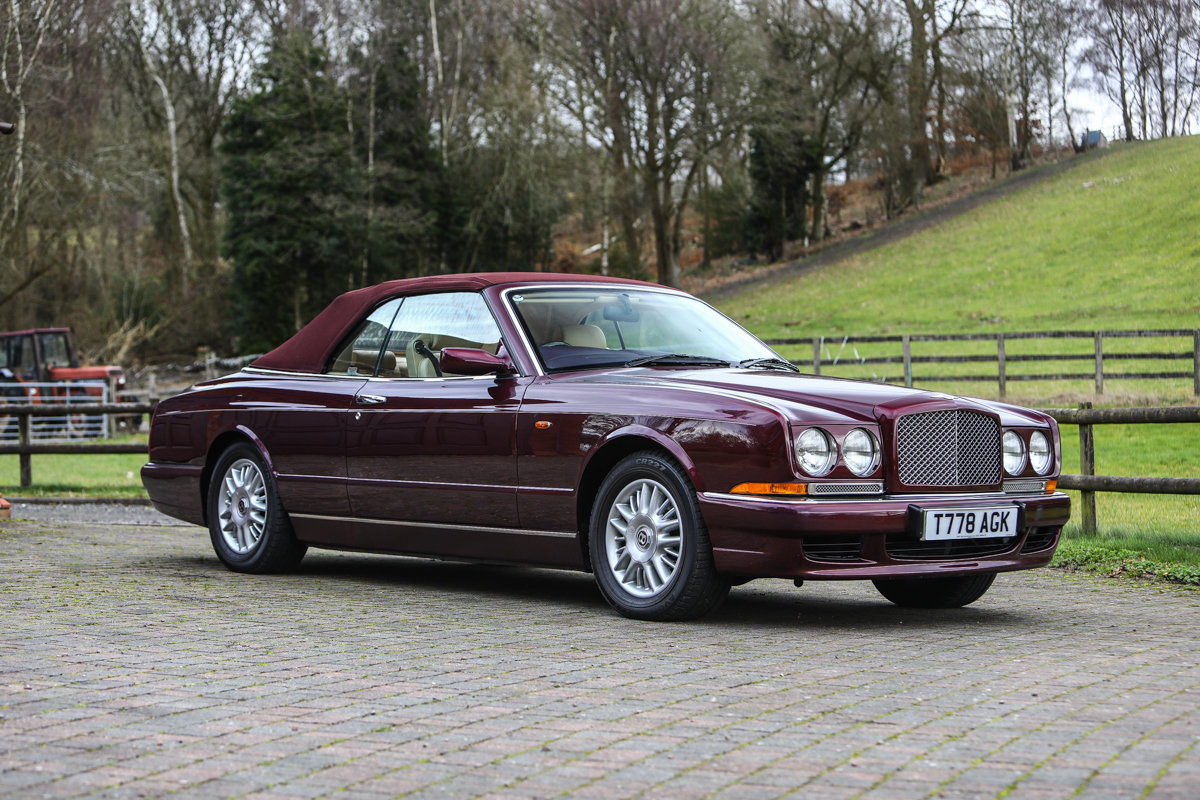 1999 Bentley Azure Convertible SOLD by Auction (picture 3 of 6)