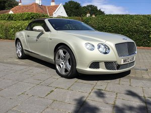 2013 Bentley GTC 6.0 W12 Mulliner Immaculate