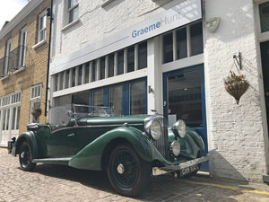1936 Bentley 4.25 litre tourer by Vanden Plas For Sale