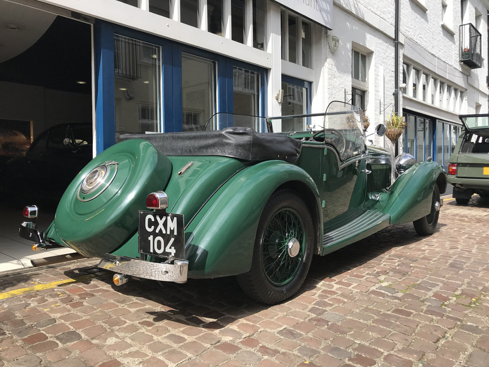 1936 Bentley 4.25 litre tourer by Vanden Plas For Sale (picture 3 of 6)