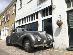 1939 Bentley 4.25MX chassis series with Embiricos style body For Sale