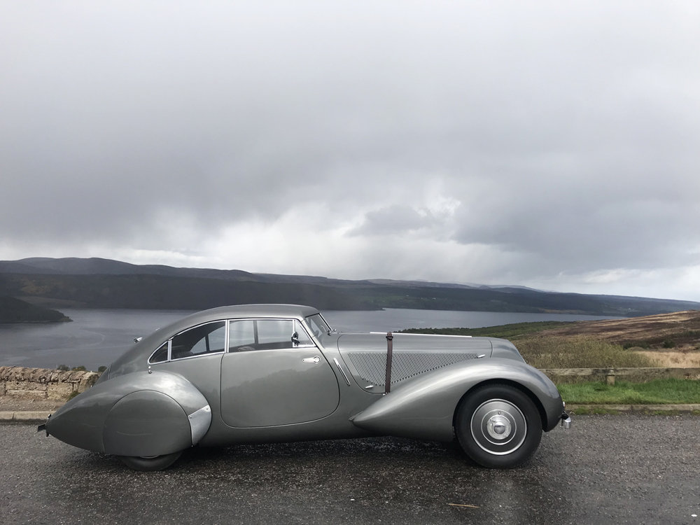 1939 Bentley 4.25MX chassis series with Embiricos style body For Sale (picture 3 of 24)