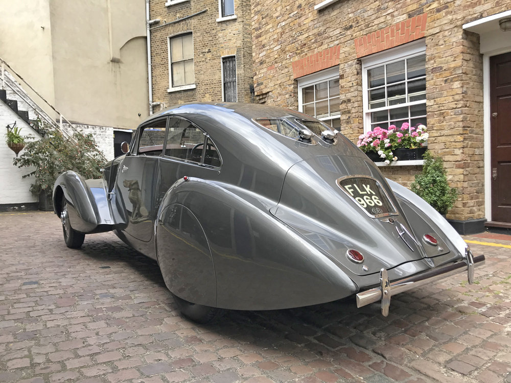 1939 Bentley 4.25MX chassis series with Embiricos style body For Sale (picture 6 of 24)
