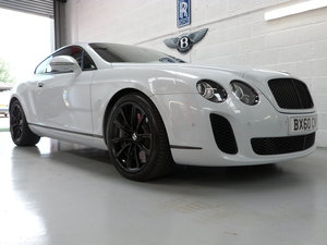 2010 Bentley Continental GT Supersport 6.0L W12