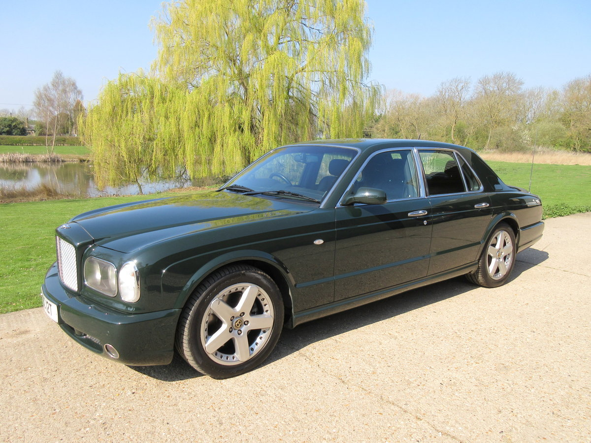 2002 Bentley Arnage T 4 Dr Auto - Low Miles For Sale (picture 1 of 6)