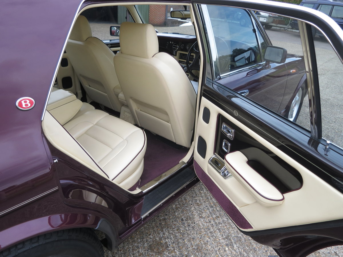 1995 Bentley Turbo S  Number 42 For Sale (picture 4 of 6)