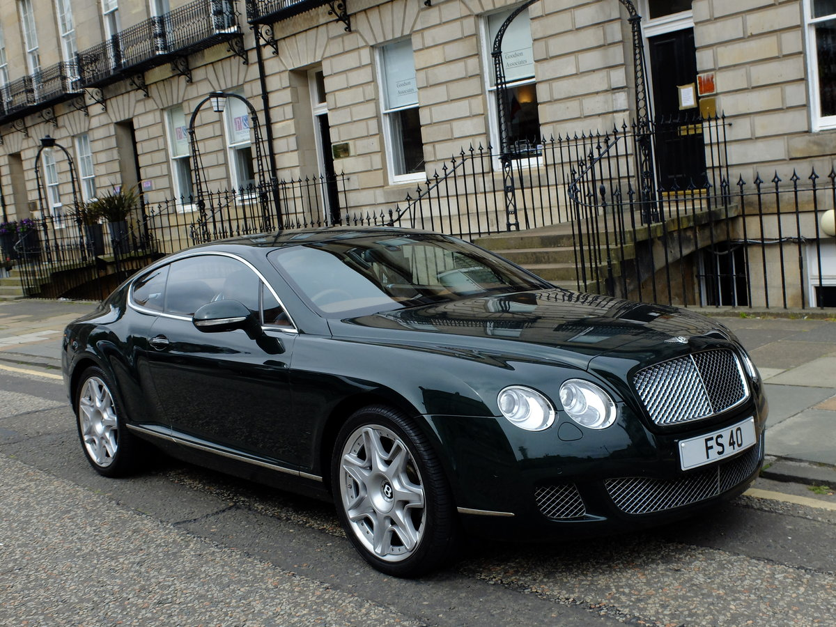 2010 BENTLEY CONTINENTAL GT 6.0 - IMPECCABLE - 26K MILES ! For Sale (picture 1 of 6)