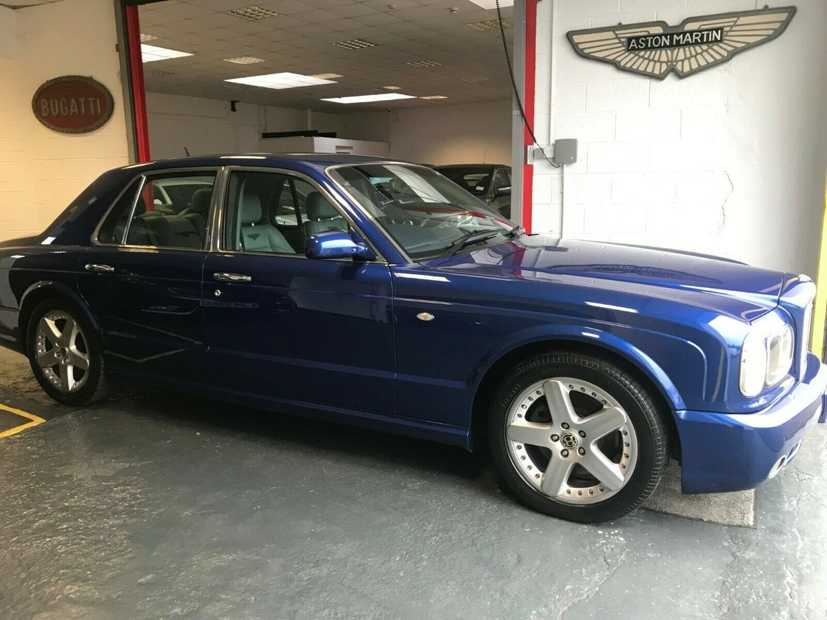 2005 2002 Bentley Arnage T V8 Twin Turbo 450bhp Morocca For Sale (picture 1 of 6)