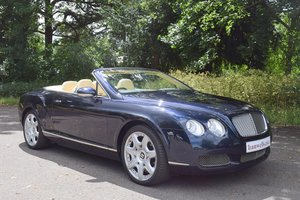 2007 2008 Model/57 Bentley GTC Mulliner in Sapphire Blue For Sale