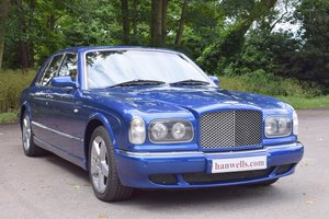2003/03 Bentley Arnage R in Moroccan Blue For Sale
