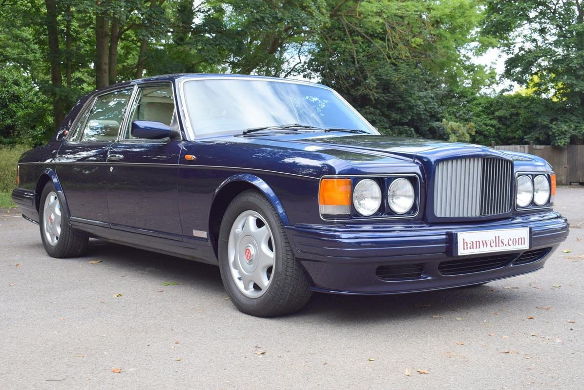 1997 P Bentley Turbo RL in Peacock Blue For Sale (picture 1 of 6)