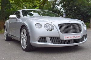 2011 2012 Model/61 Bentley Continental GT Mulliner in Moonbeam