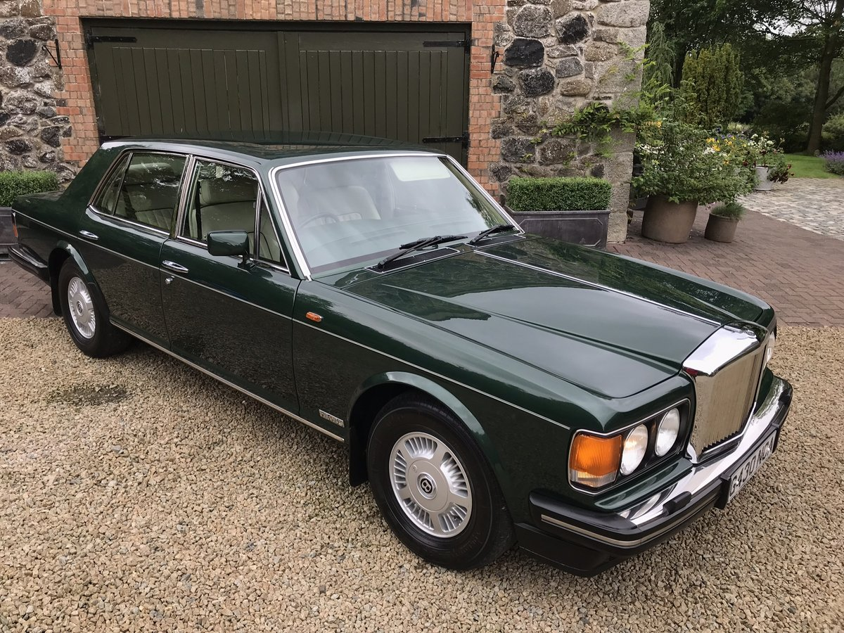 1989 Bentley Mulsanne S **Low Mileage** For Sale (picture 1 of 6)