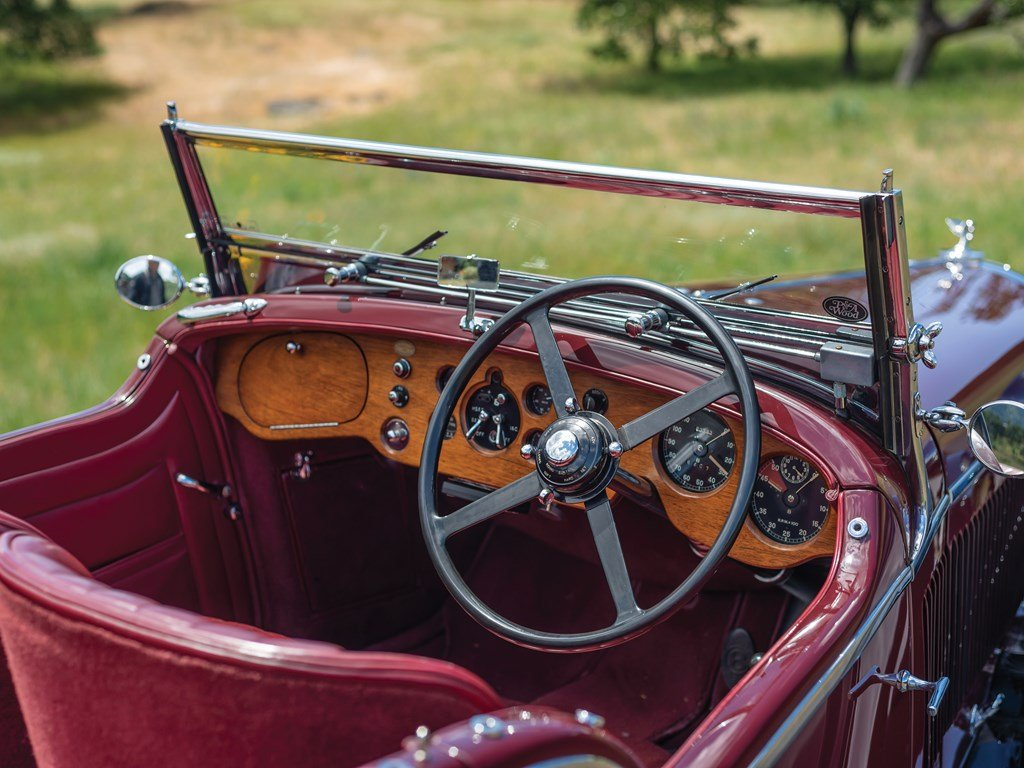 1936 Bentley 4-Litre Tourer by Vanden Plas For Sale by Auction (picture 4 of 6)