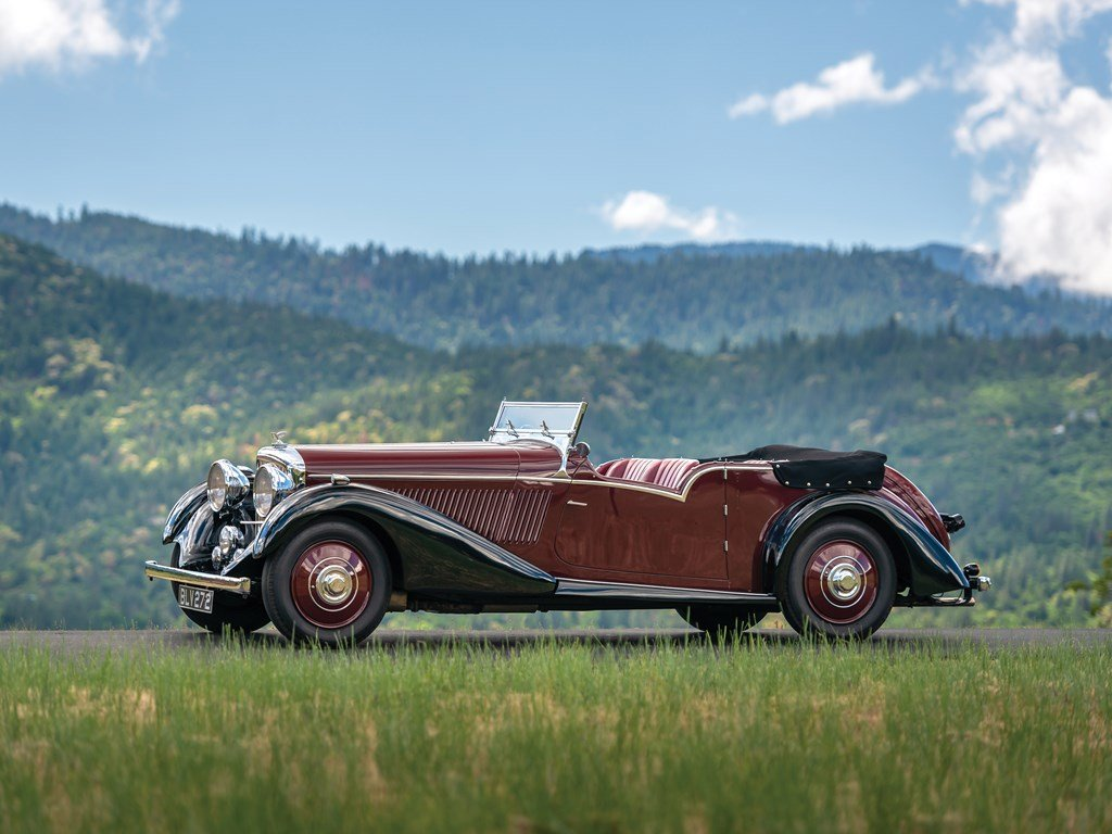 1936 Bentley 4-Litre Tourer by Vanden Plas For Sale by Auction (picture 5 of 6)