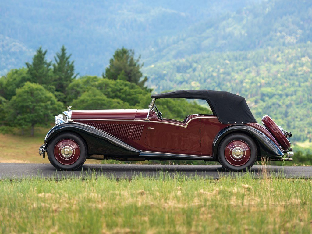1936 Bentley 4-Litre Tourer by Vanden Plas For Sale by Auction (picture 6 of 6)
