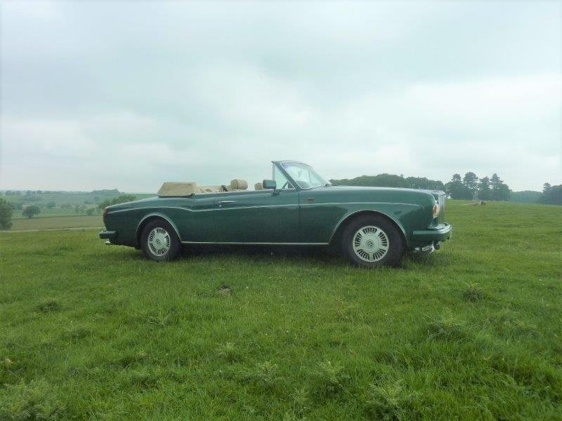 1989 Bentley Corniche Convertible For Sale (picture 1 of 6)