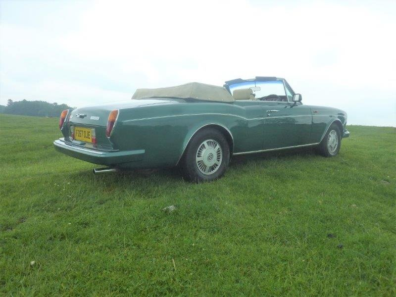 1989 Bentley Corniche Convertible For Sale (picture 4 of 6)