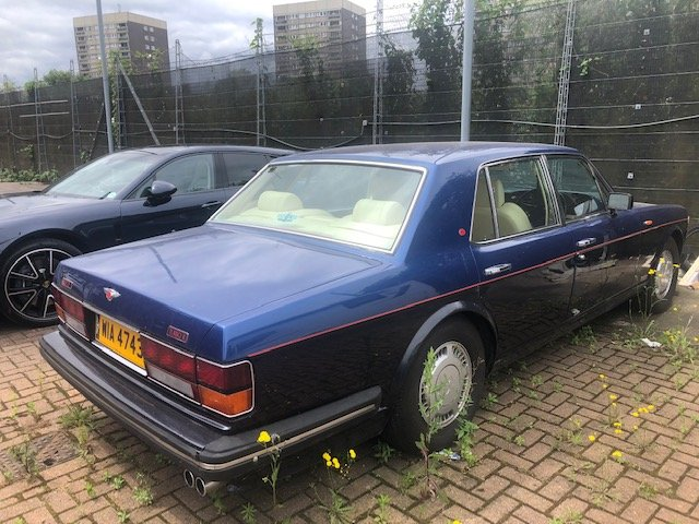 1990 Bentley Turbo R For Sale (picture 1 of 2)