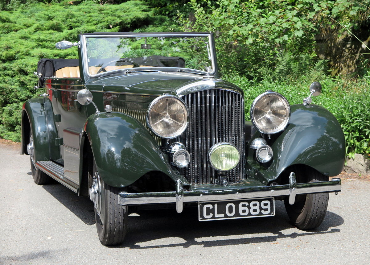1936 Bentley 3½ Litre Carlton 4 Dr 'Allweather' Tourer B37FC For Sale (picture 1 of 6)