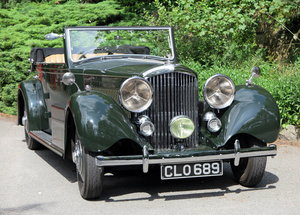1936 Bentley 3½ Litre Carlton 4 Dr 'Allweather' Tourer B37FC For Sale