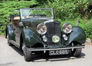 1936  Bentley 3½ Litre Carlton 4 Dr 'Allweather' Tourer B37FC