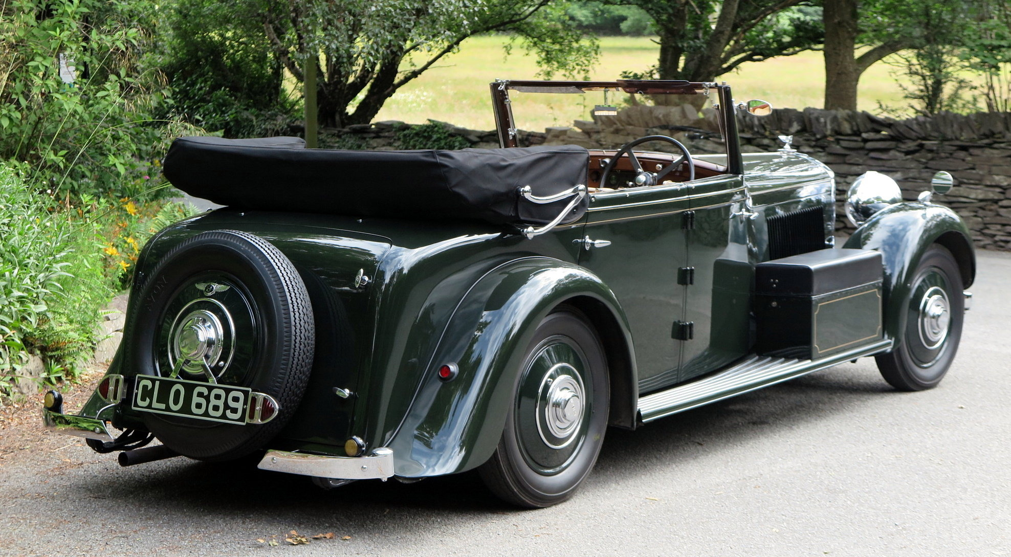 1936 Bentley 3½ Litre Carlton 4 Dr 'Allweather' Tourer B37FC For Sale (picture 2 of 6)