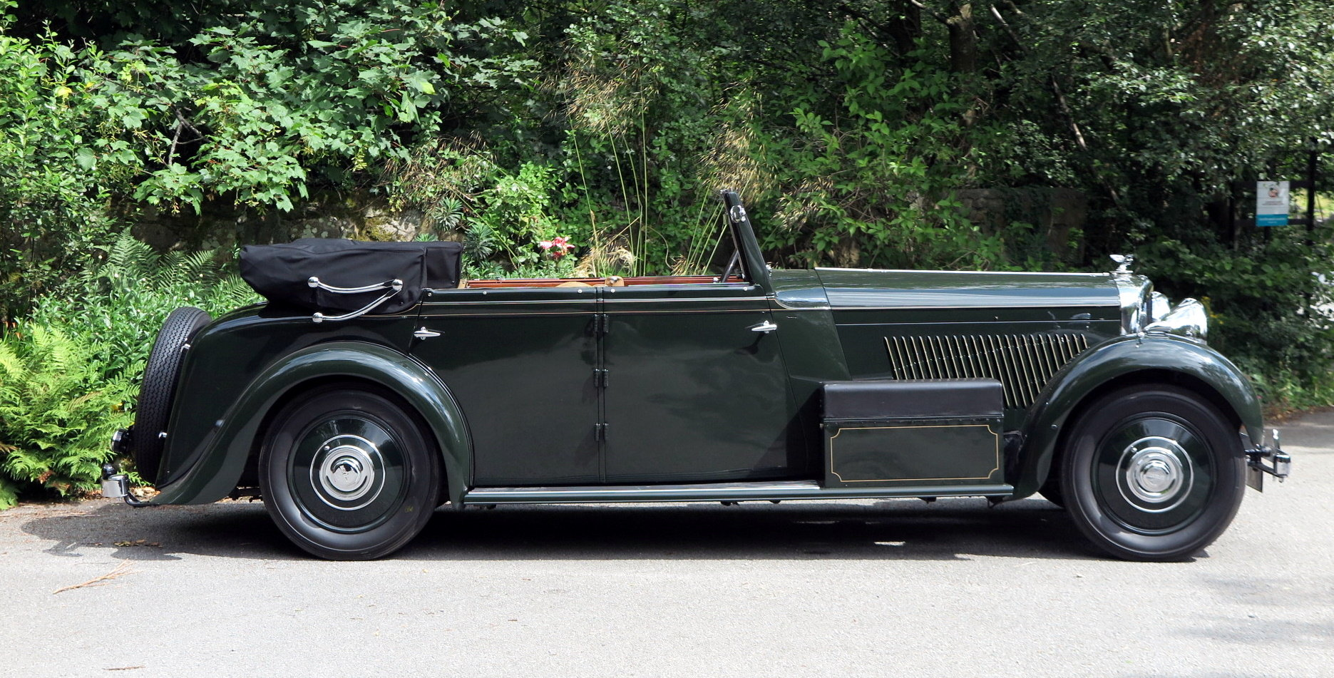 1936 Bentley 3½ Litre Carlton 4 Dr 'Allweather' Tourer B37FC For Sale (picture 3 of 6)