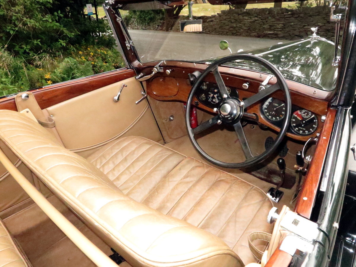 1936 Bentley 3½ Litre Carlton 4 Dr 'Allweather' Tourer B37FC For Sale (picture 5 of 6)