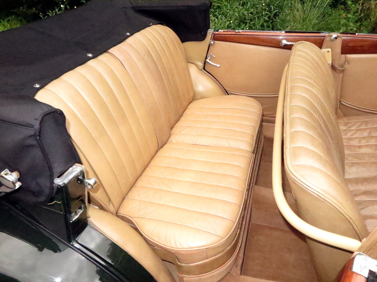 1936 Bentley 3½ Litre Carlton 4 Dr 'Allweather' Tourer B37FC For Sale (picture 6 of 6)