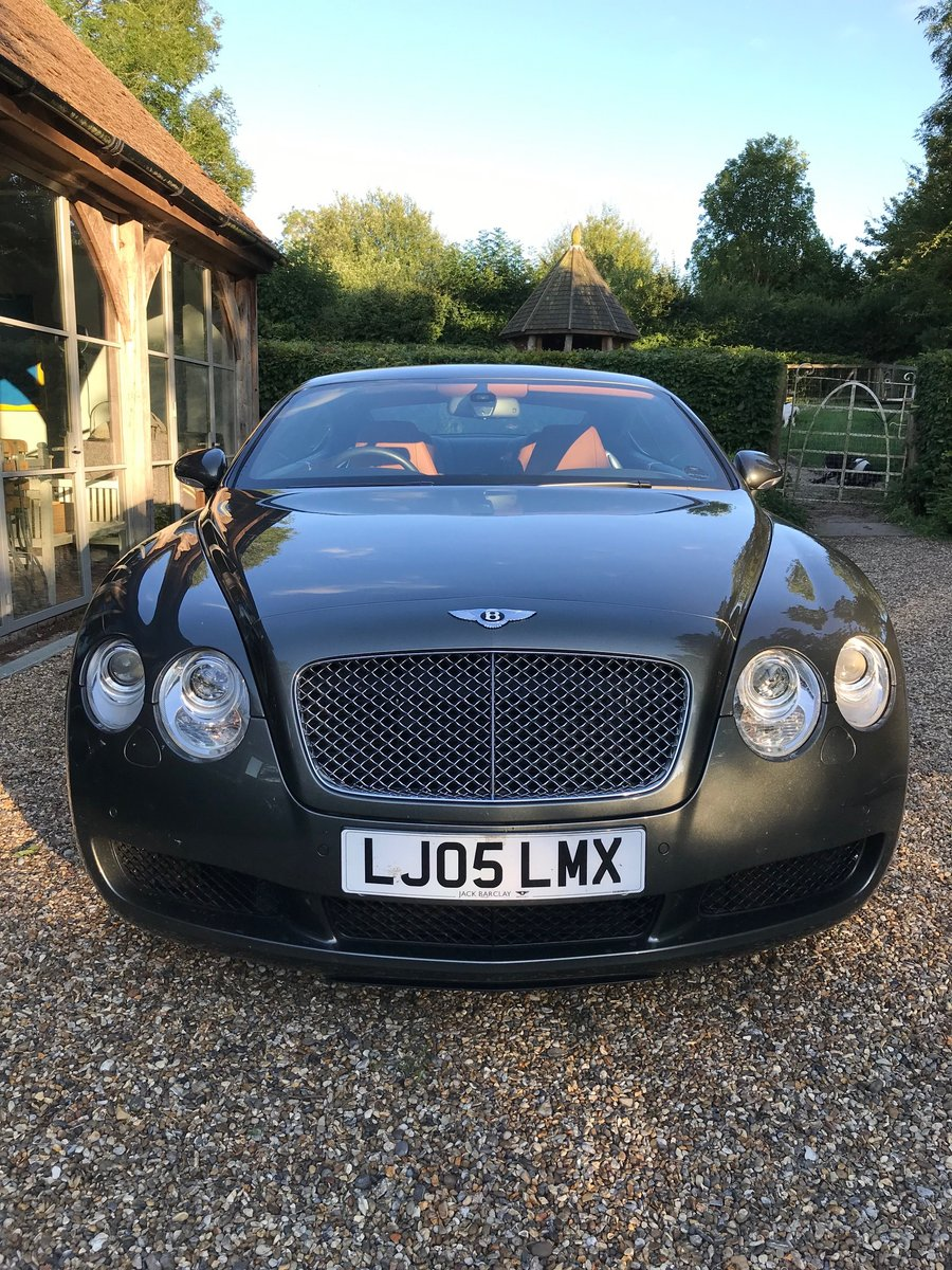 2005 Low mileage GT Continental For Sale (picture 2 of 6)