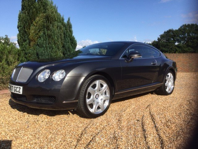 2007 Bentley Continental GT Coupe Mulliner Only 30100 Miles FBSH For Sale (picture 3 of 6)