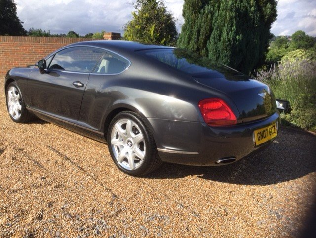 2007 Bentley Continental GT Coupe Mulliner Only 30100 Miles FBSH For Sale (picture 4 of 6)