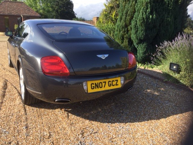 2007 Bentley Continental GT Coupe Mulliner Only 30100 Miles FBSH For Sale (picture 6 of 6)