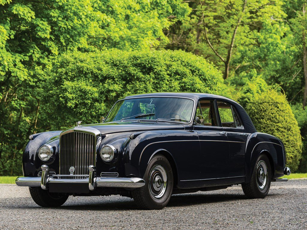 1959 Bentley S1 Continental Flying Spur Sports Saloon by H.J For Sale by Auction (picture 1 of 6)