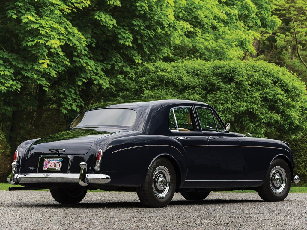 1959 Bentley S1 Continental Flying Spur Sports Saloon by H.J For Sale by Auction (picture 2 of 6)