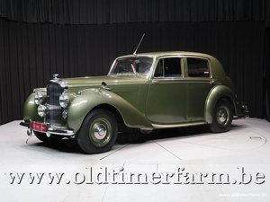 1948 Bentley MK VI Sports Saloon '48