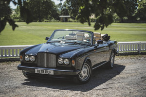 1990 Bentley Continental Corniche Convertible For Sale by Auction