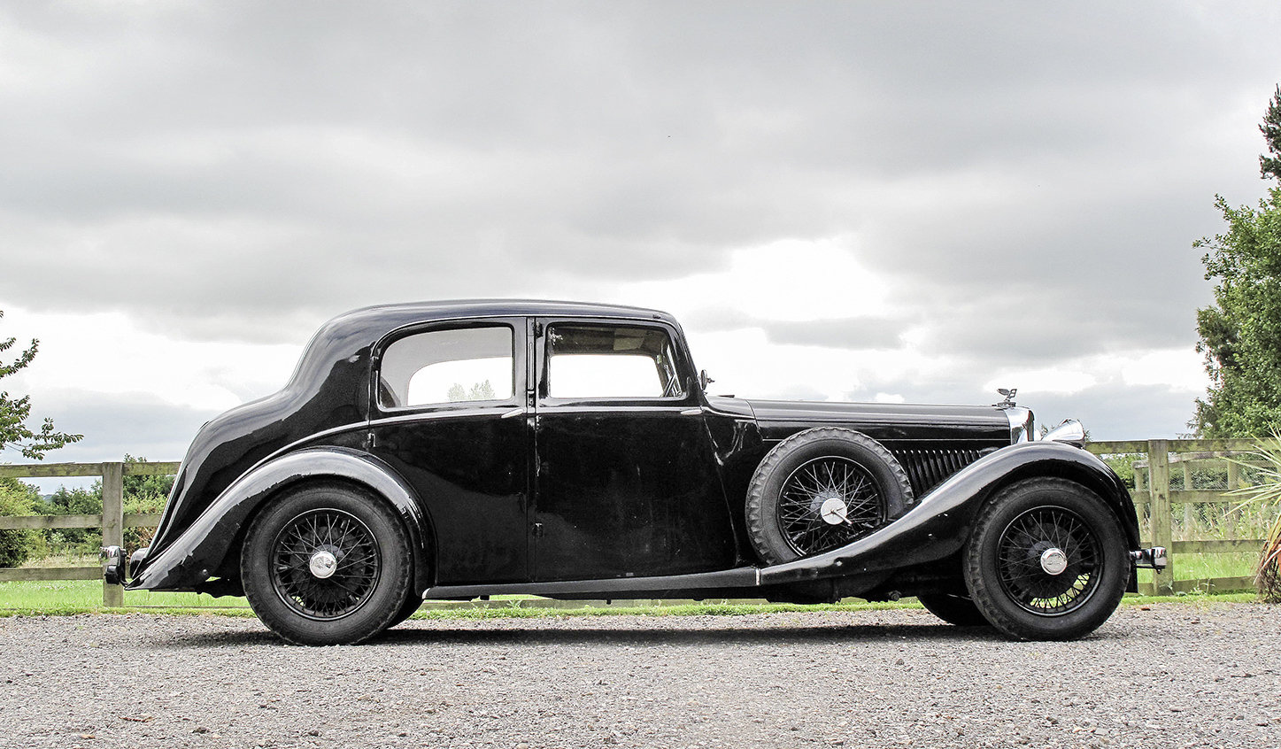 1936 Bentley 4¼ Litre Saloon by Park Ward For Sale (picture 2 of 6)