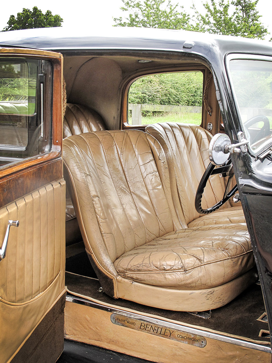 1936 Bentley 4¼ Litre Saloon by Park Ward For Sale (picture 4 of 6)